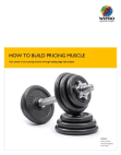 HOW TO BUILD PRICING MUSCLE  Gain power in your pricing function through leading edge data