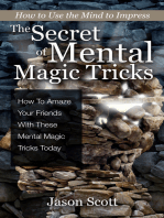 The Secret of Mental Magic Tricks