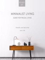 Minimalist Living Guide for Frugal Living (Boxed Set)