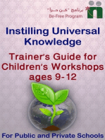 Trainer's Guide for Children's Workshops, ages 9-12 years old