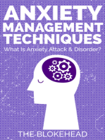 Anxiety Management Techniques