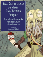 Saxo Grammaticus on Slavic Pre-Christian Religion: The Relevant Fragments from Book XIV of Gesta Danorum