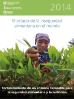 El Estado de la Inseguridad Alimentaria en el Mundo 2014