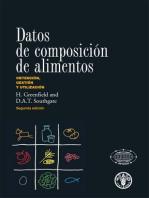 Datos de composición de alimentos