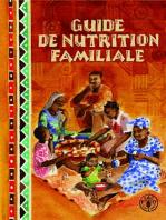 Guide de nutrition familiale
