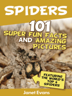 Spiders:101 Fun Facts & Amazing Pictures ( Featuring The World's Top 6 Spiders)