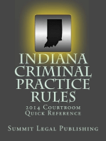 Indiana Criminal Practice Rules