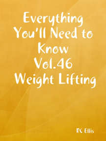 Everything You'll Need to Know Vol.46 Weight Lifting