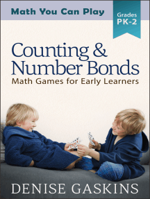 Counting & Number Bonds: Math Games for Early Learners, Preschool to Second Grade