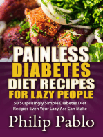 Painless Diabetes Diet Recipes For Lazy People