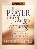 The Prayer That Changes Everything® Prayer Cards