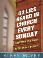 52 Lies Heard in Church Every Sunday