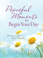 Peaceful Moments to Begin Your Day