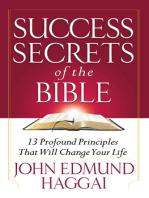 Success Secrets of the Bible