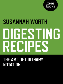 Digesting Recipes: The Art of Culinary Notation