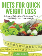 Diets for Quick Weight Loss