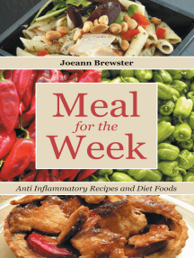 Meal for the Week: Anti Inflammatory Recipes and Diet Foods