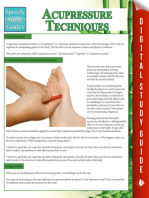 Acupressure Techniques (Speedy Study Guides)