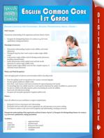 English Common Core 1st Grade (Speedy Study Guide)
