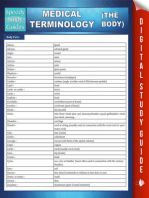 Medical Terminology (The Body) Speedy Study Guides