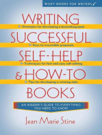 Writing Successful Self-Help and How-To Books