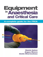 Equipment in Anaesthesia and Critical Care