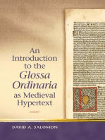 An Introduction to the 'Glossa Ordinaria' as Medieval Hypertext