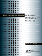 Preliminary Relief in Patent Infringement Disputes