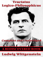 Tractatus Logico-Philosophicus (Rediscovered Books): Complete and Unabridged