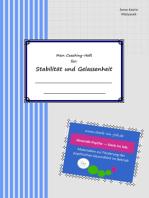 Mein Coaching-Heft für Stabilität und Gelassenheit