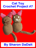 Cat Toy Crochet Project #7