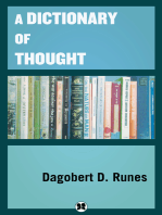 A Dictionary of Thought