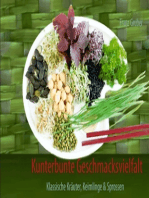 Kunterbunte Geschmacksvielfalt