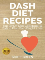 Dash Diet Recipes Top Dash Diet Cookbook & Eating Plan For Weight Loss