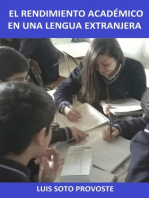 El Rendimiento Académico en una Lengua Extranjera