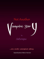 Not Another Vampire Story
