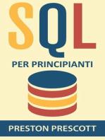 SQL per principianti
