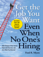 Get The Job You Want, Even When No One's Hiring