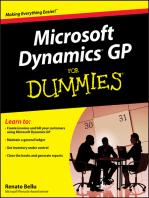 Microsoft Dynamics GP For Dummies