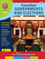 Canadian Governments and Elections