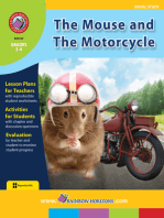 The Mouse and The Motorcycle (Novel Study)