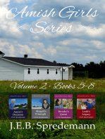 Amish Girls Series - Volume 2 (Boxed Set - Books 5-8)
