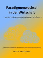Paradigmenwechsel in der Wirtschaft