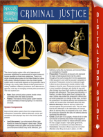 Criminal Justice (Speedy Study Guides)