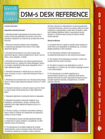 DSM-5 Desk Reference (Speedy Study Guides)