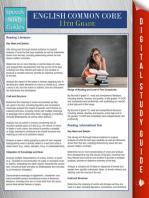 English Common Core 11th Grade (Speedy Study Guides)