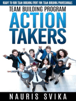 """Team Building Program """"Action Takers."""" Ready To Run Team Building Event For Team Building Professionals."""