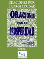 Oraciones por la prosperidad