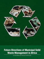 Future Directions of Municipal Solid Waste Management in Africa