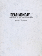 'Dear Monday...' Love Notes to the Days of the Week